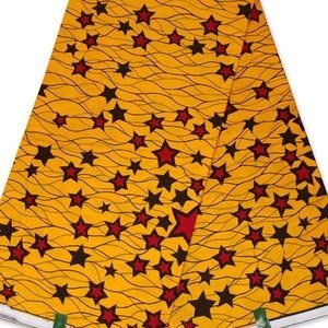 """African Print African Fabric 6 yards, 45"""" wide"""